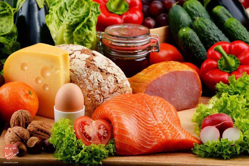 رژیم غذایی مناسب باروری - میترانیتا