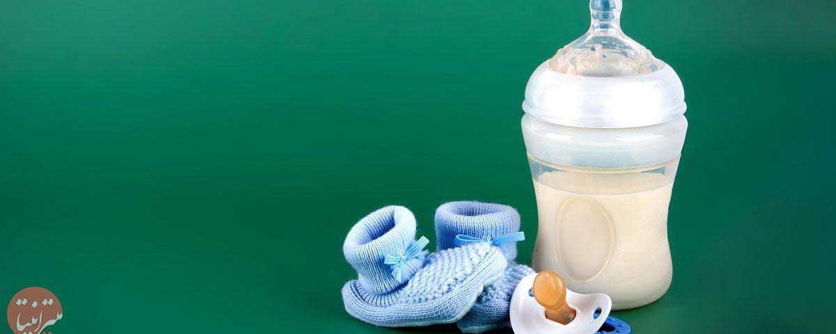 استریل کردن شیشه شیر - میترانیتا